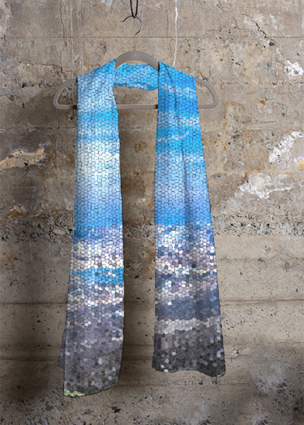 Mykonos Collection Panormos Silk Scarf