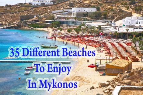 35 Beaches To Enjoy In Mykonos
